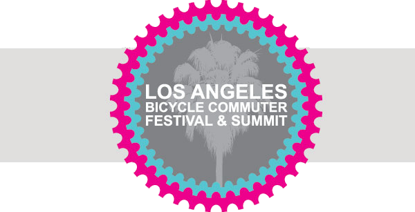 LA bike commuter festival an dsummit logo