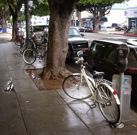 Missing Bike Valet in Santa Monica
