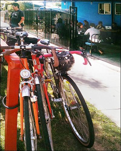 Cafecito Organico Bike Rack