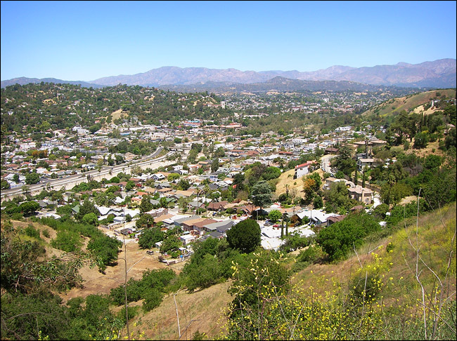 Highland Park from Montecito Heights