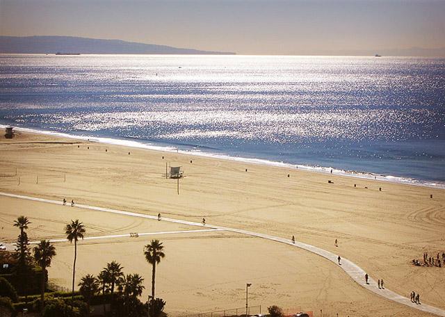 Santa Monica beach, November 2010