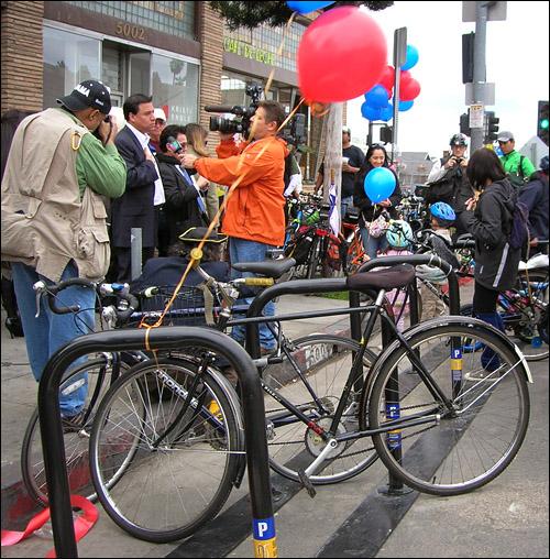 York Bike Corral--LA's First