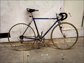 The expert, falcon san remo vintage bicycle