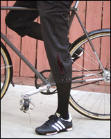 Bicycle Fixation Over-the-Knee Knicker Socks